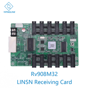 Image 1 - LINSN RV908 RV908M32 full color LED display control card LED receiving card video wall controller work with Linsn TS802D sender