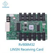 LINSN RV908 RV908M32 полноцветный светодиодный дисплей, контрольная карта, светодиодный Контролер для видеостены, работает с Linsn TS802D отправителем
