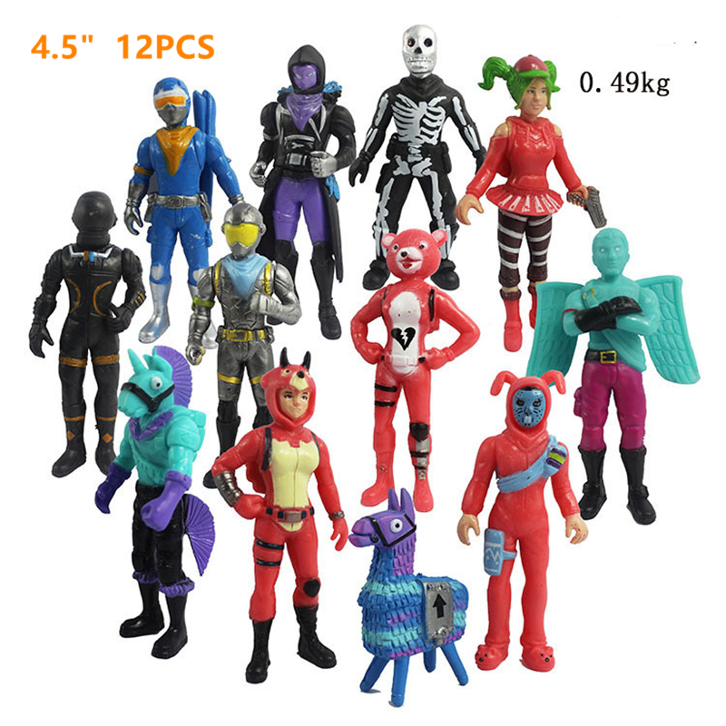 Anime Popular Fortnight Game Llama Action Figure Night Fortnight Figures Doll Model Five Nights At Freddy's Gifts For Kid