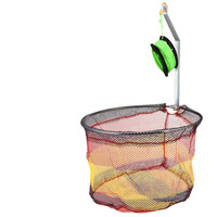 Nylon Monofilament Net Loop free Shrimp Cage Fishing Net Catcher Trap Foldable Portable For Crab Crayfish Lobster Fishing Tackle