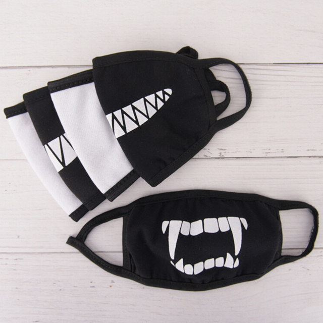 1PC Kawaii Anti Dust Mask Cotton Mouth Mask Cute Unisex Cartoon Mouth Muffle Kpop Flu Face Mask Korean Masque Bear Masks 4