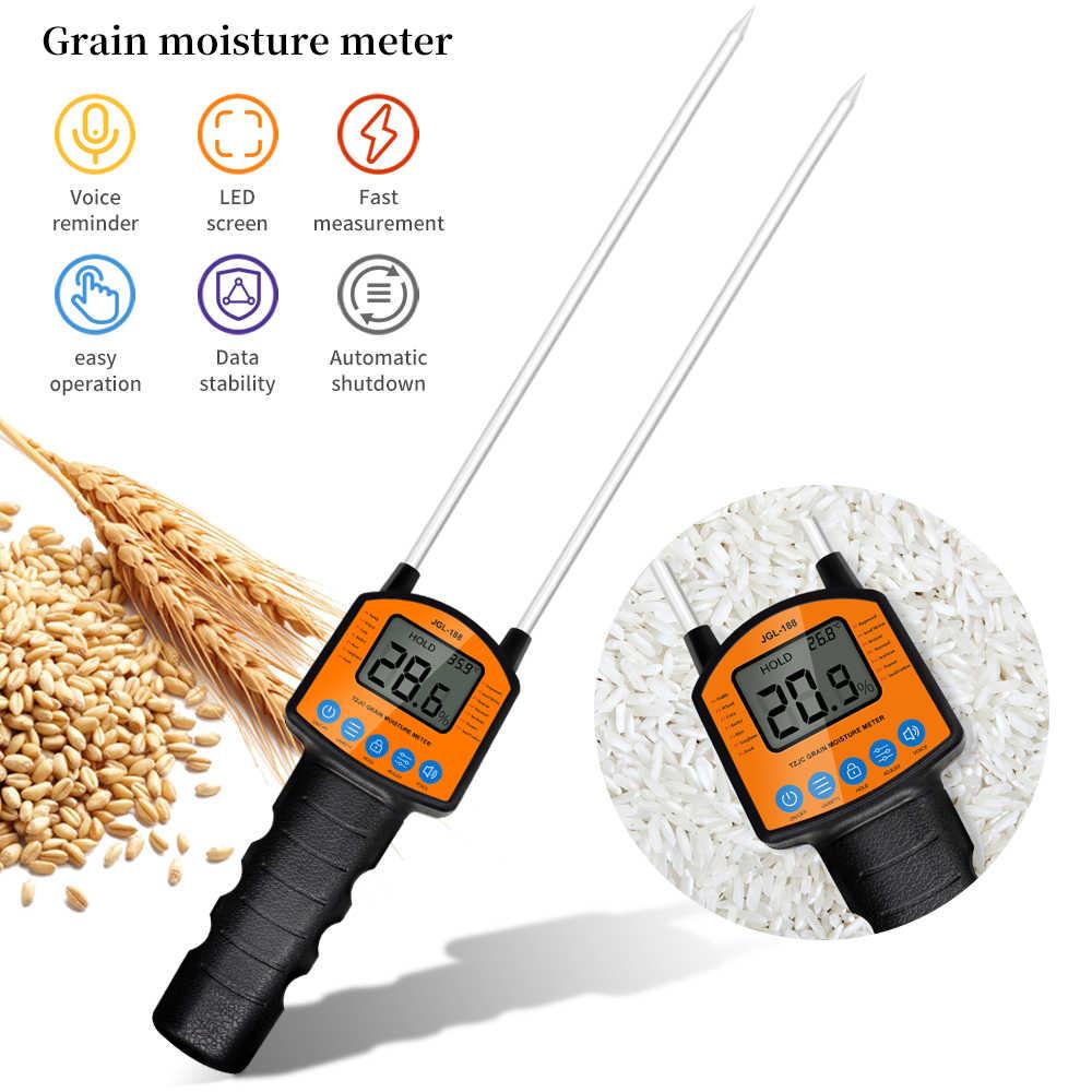 Измеритель влажности зерна, цифровой гигрометр для измерения влажности зерна, используется в зернах кукурузы, пшеницы, риса, арахиса