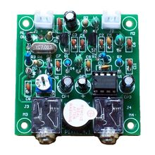 NEW Radio 40M CW Shortwave Transmitter Receiver Version 4.1 7.023 7.026MHz QRP Pixie Kits DIY with Buzzer Transceiver