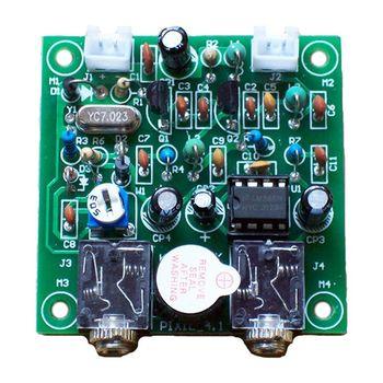 Nowy-Radio 40M CW krótkofalówka nadajnik-odbiornik wersja 4.1 7.023-7.026MHz QRP Pixie zestawy DIY z brzęczykiem transceiver