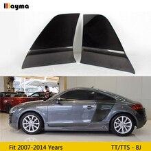 Углеродное волокно заднее боковое крыло двери защита для автомобиля доска для Audi TT 8J TTS TTRS TT S Line Coupe 2 двери 07-14 лет MK2 R8 Стиль