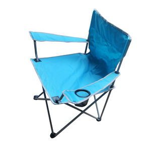 Image 5 - Outdoor Camping Fishing Chairs Oxford Cloth Folding Portable Arm Chair Patio Fish Camping set With Cup Holder Carry Bag Sandalye