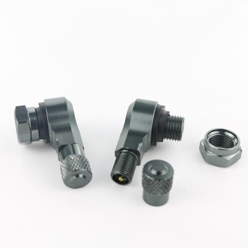 Для BMW S1000RR S1000R S1000XR HP4 R1200RS G310R мотоцикл 2 шт. алюминиевые шины клапан Стебли бескамерные клапаны 11,3 мм - Цвет: titanium