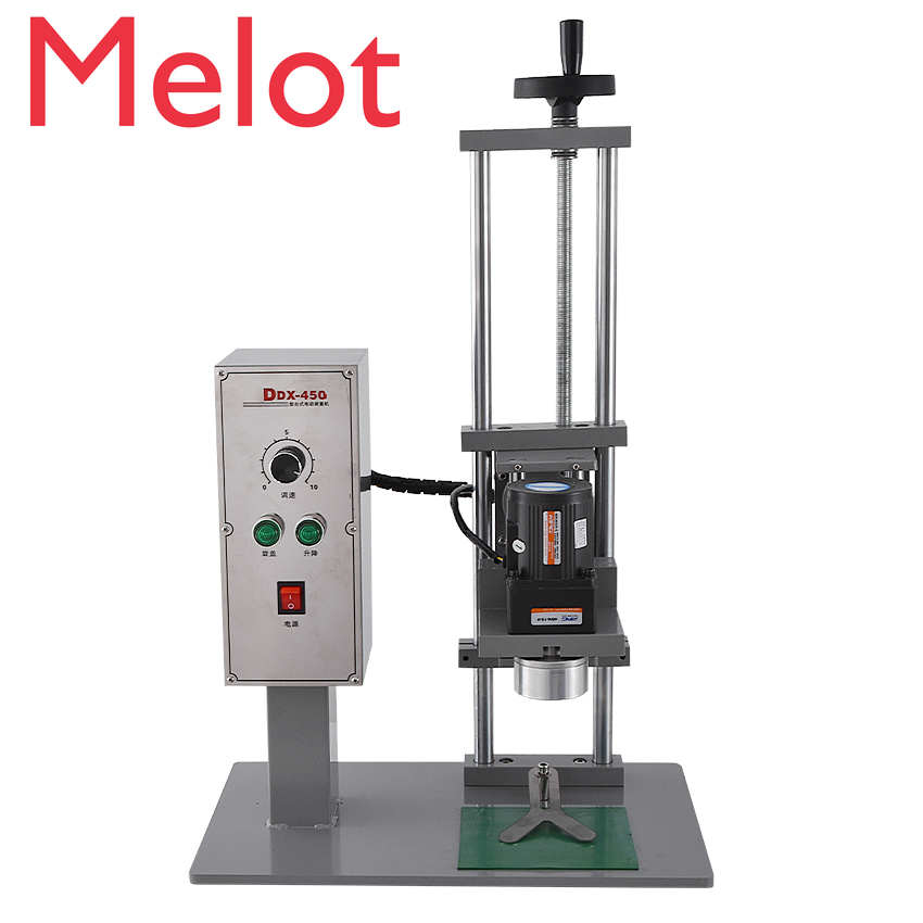 Multi-function Screwing Machine DDX450 High-quality Desktop Automatic Bottle Capping Machine 110V/220V 70KW 10-50mm Hot Selling