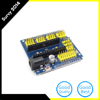 цена на Nano V3.0 Prototype Shield I/O Extension Board Expansion New Module for arduino