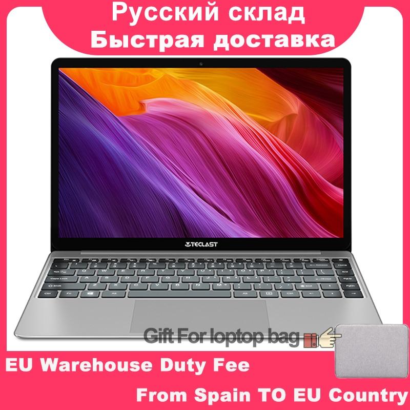 Teclast F7 Plus Laptop 14.0 ''Windows 10 Thuis Versie Intel Gemini Lake N4100 Quad Core 1.1 GHz 8 GB RAM 256 GB SSD notebook
