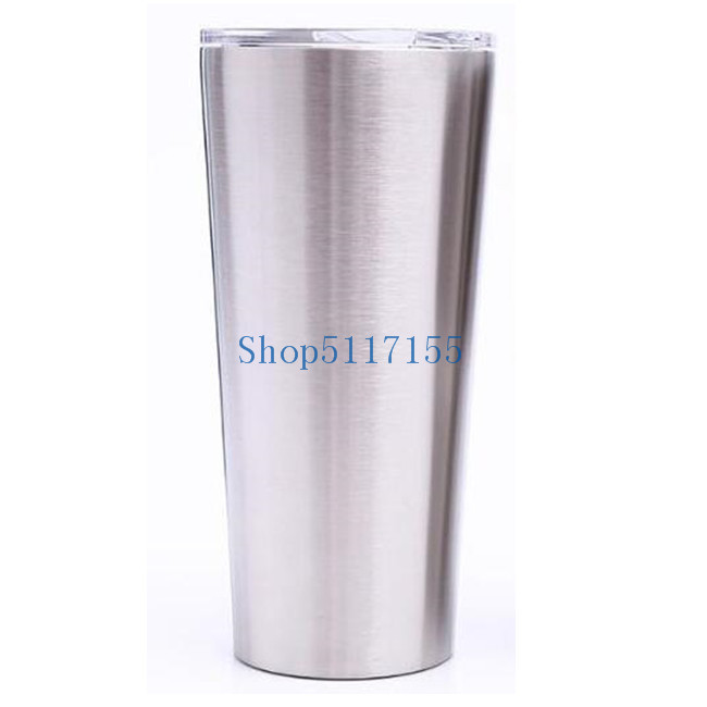 25pcs 24oz <font><b>20oz</b></font> 16oz Vacuum Tumbler Coffee <font><b>Mug</b></font> Stainless Steel Double Wall Vacuum Insulated Beer Cups Drinkware Vacuum <font><b>Mugs</b></font> image