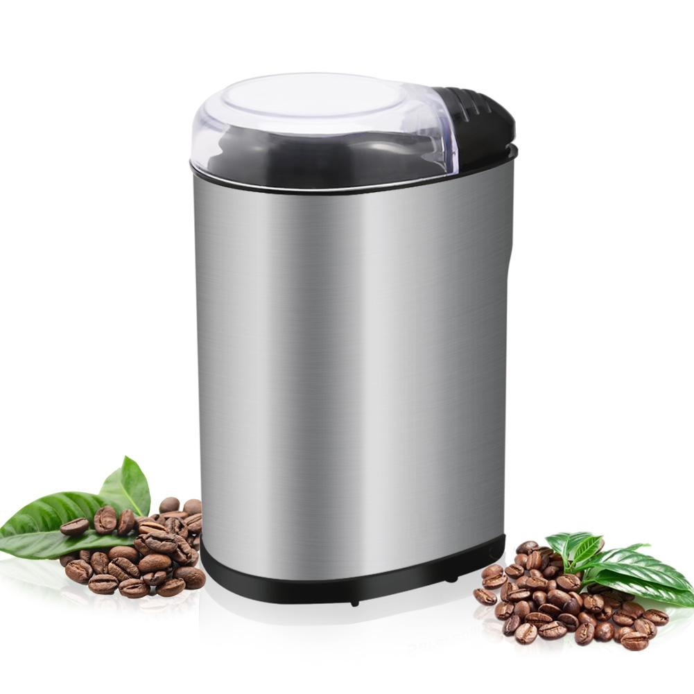 220W Multifunctional Electric Coffee Grinder Low Noise For Burr Spices  Coffee Bean  Nuts  Herbs  Grains And More|Manual Coffee Grinders| |  - title=