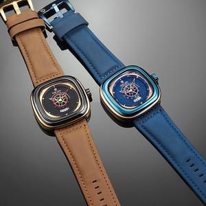 Image 5 - KADEMAN 新スクエア腕時計男性高級スポーツ腕時計 2019 星空デザインファッション腕時計 3TAM ビジネスカジュアルレロジオ Masculino