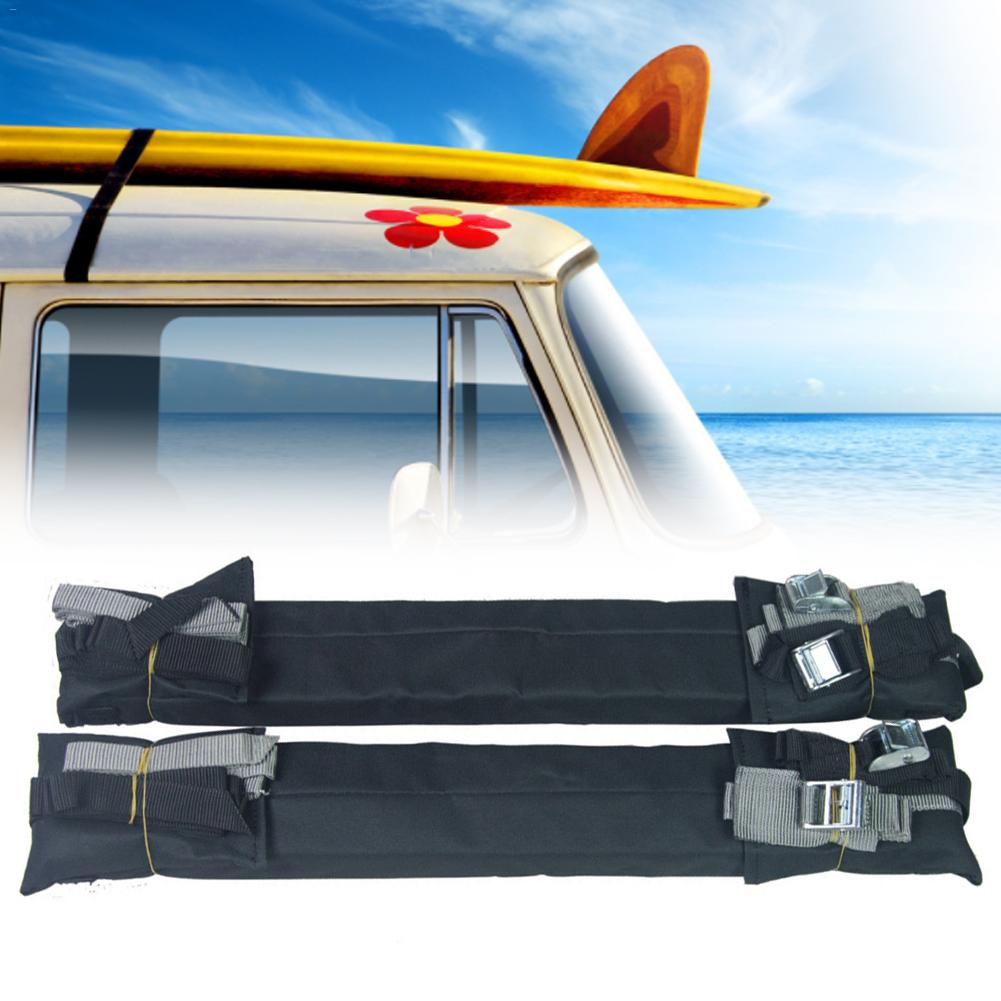 2pcs / Pair Car Roof Rack Cushion Pads For Kayak Canoe Surfboard Paddle Snowboard Sup Board Racks Pads Surfboard Roof Rack