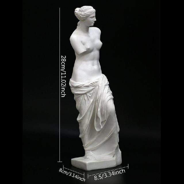 Nordic Broken Arm Venus Abstract Resin Figurine Antique Home Decor Sculpture Decoration Craft Greek Statue European Ornament 6