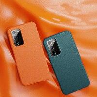 Custodia in pelle Premium per Samsung Note20 custodia in pelle di lusso Ultra sottile sottile per Samsung Note20 protezione del telefono #3