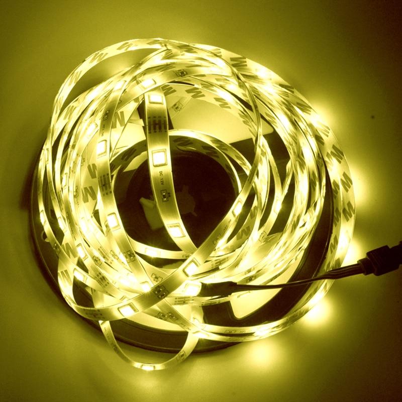Светодиодная лента 2835 5050 Водонепроницаемый светодиодный светильник s для комнаты мобильный телефон управление Wir 5 м 10 м 15 м 20 м светодиодный неоновый светильник DC 12 В Гибкая полоса|Светодиодные ленты| | АлиЭкспресс