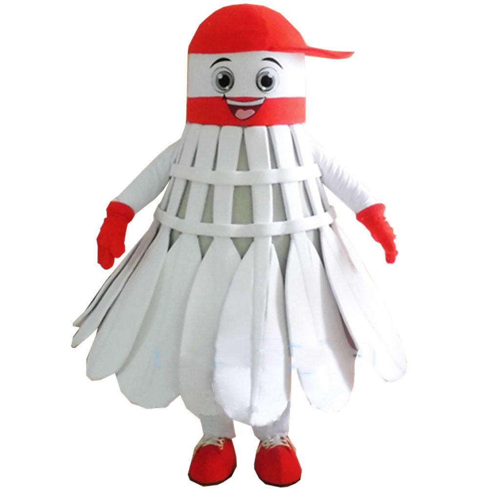 2019 annonces volant mascotte Badminton Costume fête robe adulte tenue jeu noël Hallowen cadeaux d'anniversaire