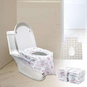 20PCS Disposable Toilet Seat Maternal Child Toilet Seat Toilet Training Seat Cover Waterproof Non-Slip Pregnant Women Toilet Mat