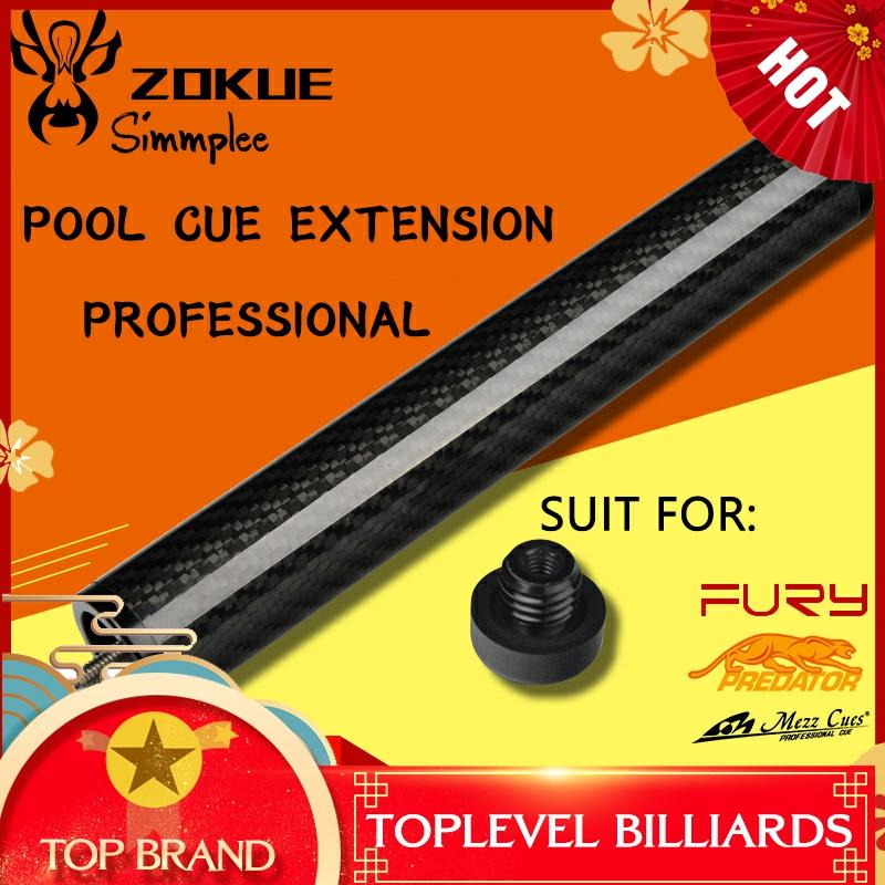 Original ZOKUE Extension Pool Cue Extension Multifunction Billiard Stick Extended Portable Suit For MEZZ+FURY+PREDATOR Cue Use