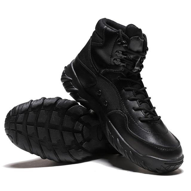 Gran tama o 39 45 hombres desierto t ctico militar botas hombre impermeable al aire libre
