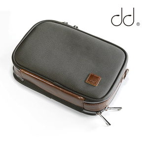 DD ddHiFi C-2020 (Brown) Customized HiFi Carrying Case for Audiophiles, Storage Bag for DAP, DAC and Headphone, Protective Case