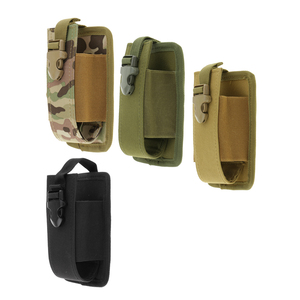 New Molle Radio Walkie Talkie Pouch Holder Holster Case Bag Pocket Large for Outdoor Hunting Camping Shooting Bag Pouch
