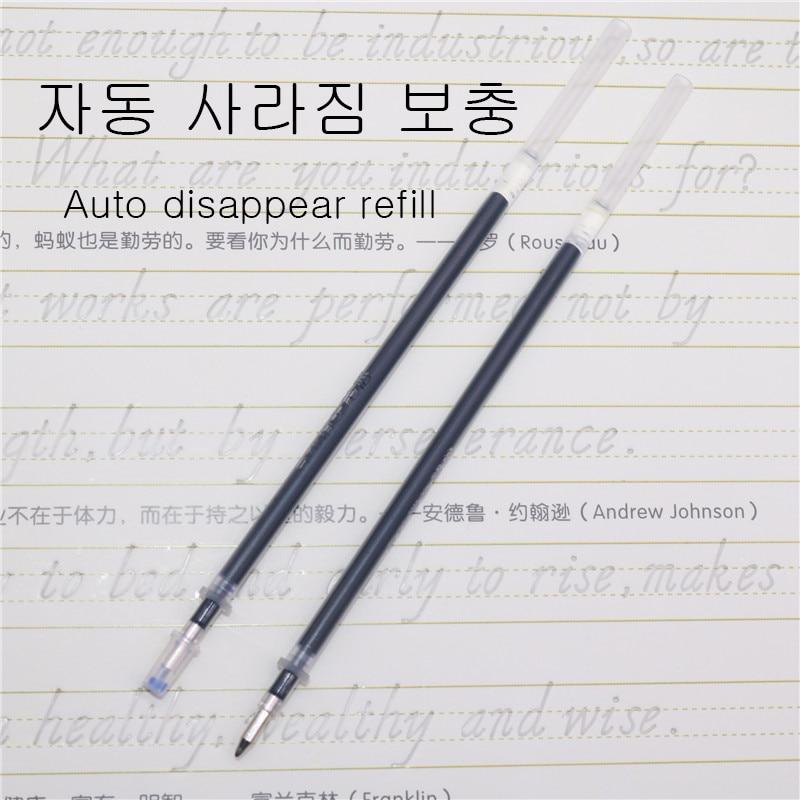 50 шт. исчезающая ручка испаритель ручка с заправляемым стержнем 0,5 мм автоматический сварочный аппарат выцветшие пополнения чернил для тек...