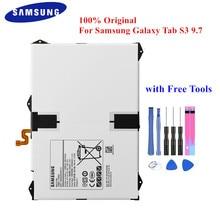 Bateria original EB BT825ABE para samsung galaxy tab s3 9.7 polegada SM T825C SM T820 t825 t825y 6000mah tablet acce + ferramentas gratuitas