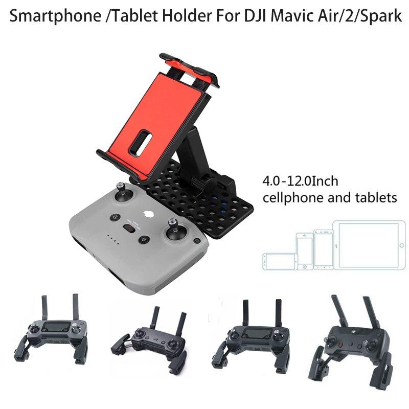 Remote Control Holder 5 5-12 inch SmartPhone tablet  Bracket Mount  For DJI mavic Air 2   Mavic 2 Mini Spark Drone Accessories