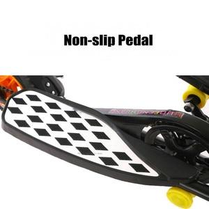 Image 3 - Складной Педальный скутер для подростков, 10 дюймовый надувной колесный скутер из алюминиевого сплава с нагрузкой 90 кг, скутер для фитнеса