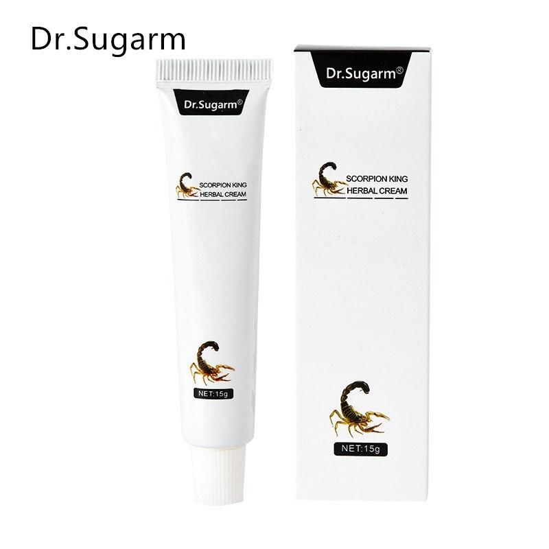 Dr.Sugarm Scoprion king Herbal Material Psoriasis Creams Dermatitis Eczema Pruritus Psoriasis Ointment Foot care body Cream 1