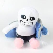 22CM Undertale peluche poupée Sans Frisk Chara peluche dessin animé jouets anniversaire pour enfants enfants cadeaux bébé confort poupée