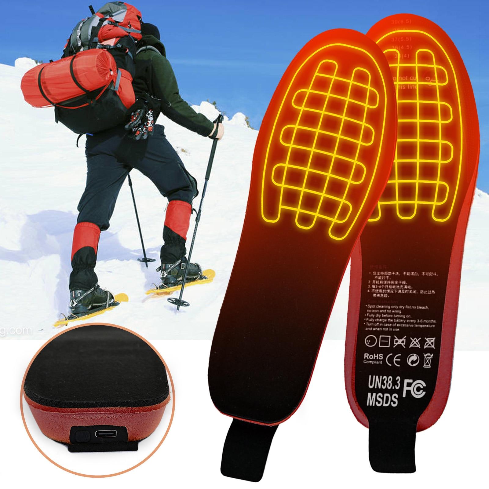 sem fio térmica recarregável aquecimento quente almofada para esportes de inverno
