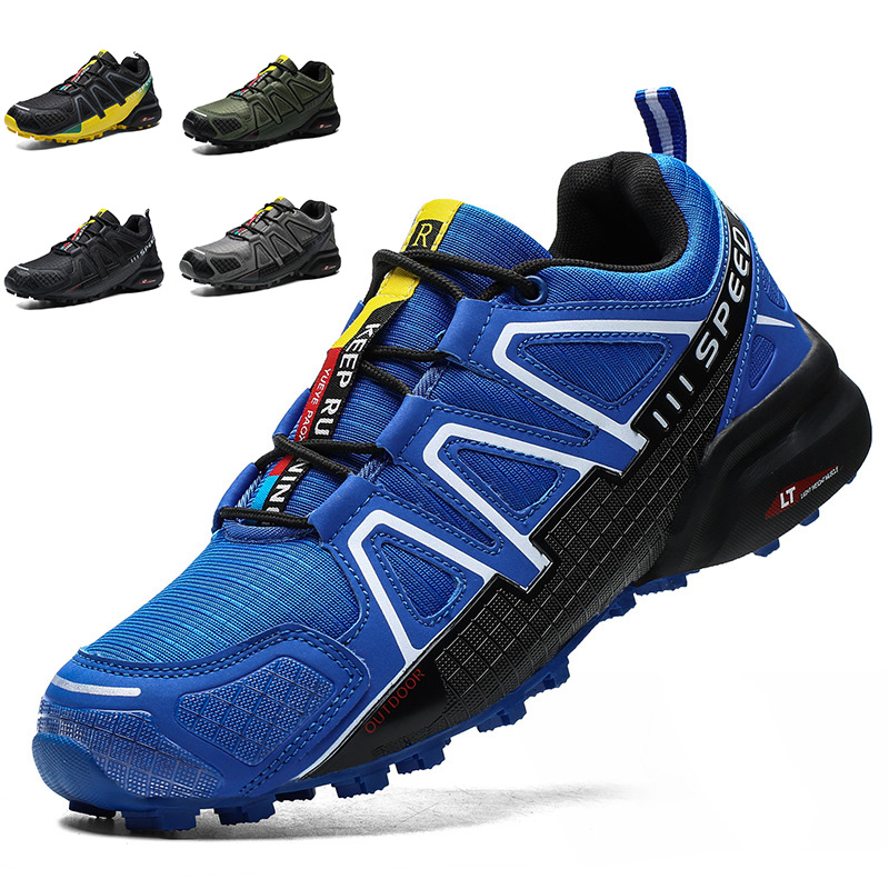 2020 Mens Bicycle Shoes Non-slip MTB Shoes Men Road Cycling Shoes Breathable Sports Mountain Bike Sneakers Size 39-47