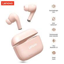 Lenovo LP1S TWS Bluetooth Kopfhörer Sport Wireless Headset mit Mic Stereo Ohrhörer HiFi Musik LP1 S Kopfhörer für Android IOS