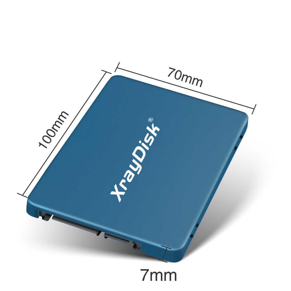 XrayDisk SSD 2.5 ''SATA3 Hdd SSD 120gb ssd 240gb 480gb SSD 512GB wewnętrzny półprzewodnikowy dysk twardy dysk twardy do laptopa Desktop