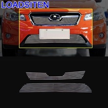 Modified Upgraded Mouldings Styling Accessory Exterior Automovil Car Accessories Racing Grills 12 18 FOR Subaru XV