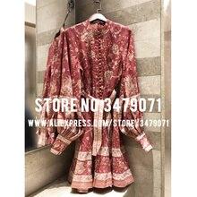 rękawy 2019 sukienka lniana