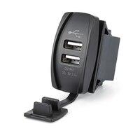 Universal Dual USB Auto Ladegerät Power Adapter 12-24 V 3,1 EIN Dual USB Buchse Ladegerät Für IPhone Ipad samsung Tablet Telefon Ladegeräte