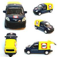 Coches de juguete de Metal de escala 1:64 de Renault minivans
