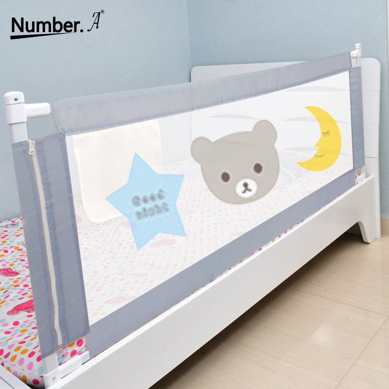 Number.A Bed Rails Fence Baby Playpen Foldable Secure Fence Children Home Protection Barrier Children Fence Safety Bed Guardrail