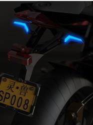 Światło ostrzegawcze led akcesoria do konwersji 12V światła elektryczne o wysokiej jasności 125 motocykl uniwersalny kierunkowskaz na