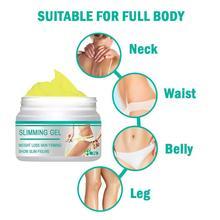 Body Slimming Cream Firming Fat Burning Gel Professional Navel Arm Leg Fat Burning Beer Bel