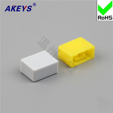 15pcs A32 / yellow, red, blue and white gray key switch hat high quality direct self-lock