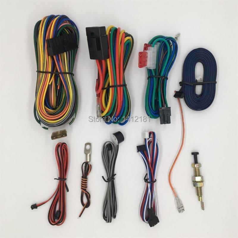 Complete Harness, Cables, Wires For Original Russian Engine Start Starline B9 2-way Car Alarm System