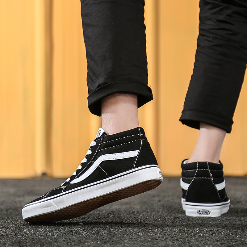 New Original Classic Van-Old-Skool Canvas Shoes Men's Women's Sneakers Skateboarding Shoes Zapatos De Mujer Deportivas Mujer