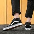 Novo Clássico Original de Van-Old-Skool Sapatas de Lona Dos Homens das Mulheres das Sapatilhas Skateboarding Shoes Zapatos De Mujer deportivas Mujer