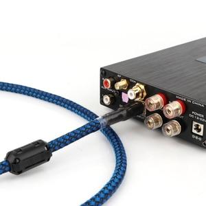 Image 5 - Hallo end 2/3/5ft Gold überzogene Audiophile USB DAC Kabel A zu B OCC Audio kabel hifi audio USB Kabel