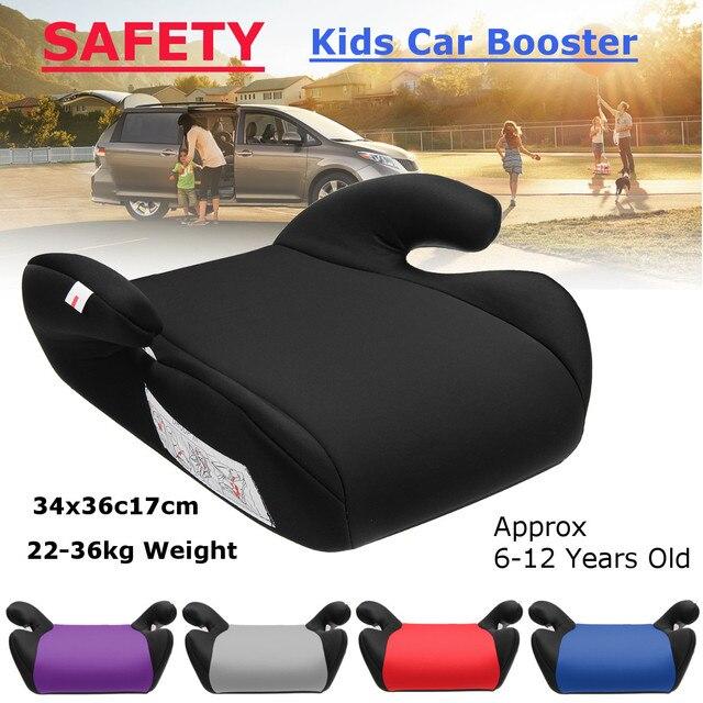 Автомобильное сиденье-бустер, безопасное, крепкое, для детей, для детей 6-12 лет, многоцветное